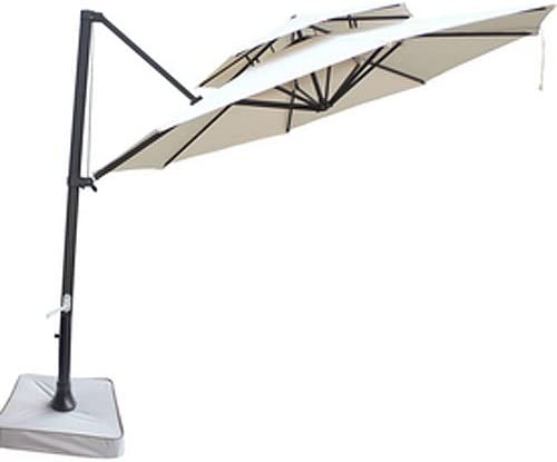 Garden Winds Southern Patio Two-Tiered Umbrella Replacement Canopy Top Cover – Will ONLY FIT Model Number – UMB-473522