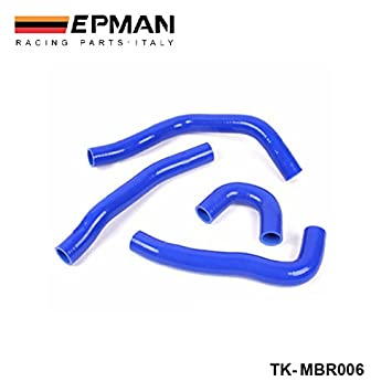 epman-silicone Radiador Intercooler Turbo Hose Kit 4PCS Para mit Lancer Evolution X (4