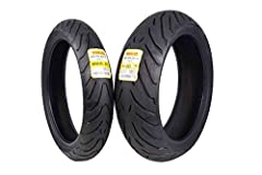 Features -Extended Mileage Sport (EMS) tires tailored for the latest Sport/Supersport bikes -The perfect tires for performance, style and comfort -Creative and functional tread design that combines high mileage with a modern and attractive lo...
