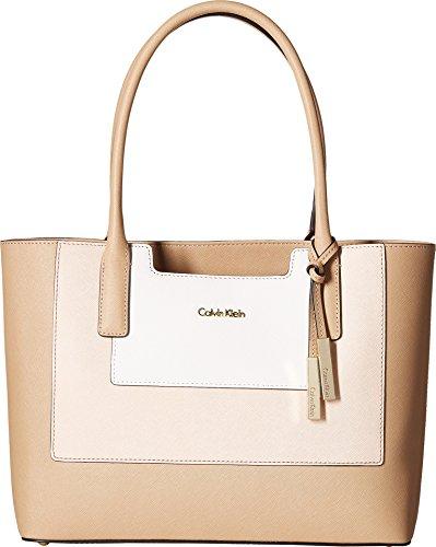 Calvin Klein Women s Key Item Saffiano Leathe…