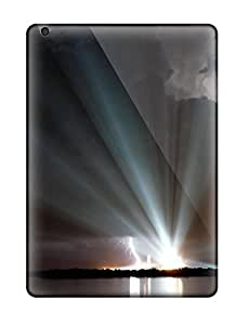 First-class Case Cover For Ipad Air Dual Protection Cover Space Shuttle Discoverys Lights