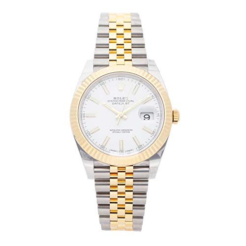 Rolex Datejust Mechanical (Automatic) White Dial Mens Watch 126333 (Certified Pre-Owned)