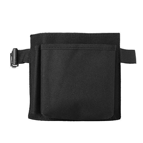 Beautyflier 6X7 inches Oxford Cloth Restaurant Waiter Waist Money Pouch Bag Apron Bag with Adjustable Web Belt Pencil Holder and Check Holder (6X7 inches(2 Pockets)) ()