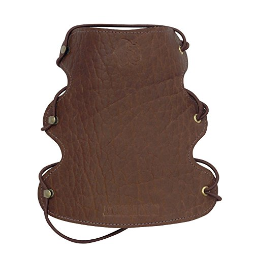Serious Archery American Bison Armguard Brown Leather