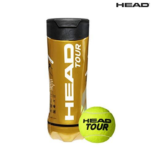 HEAD Tour Tournament Grade Tennis Ball (3 Ball/Can) Price & Reviews