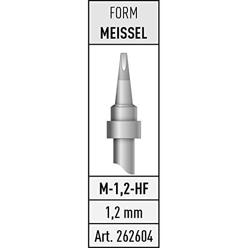 Toolcraft L/ÖTSPITZE T-1,2D MEI/ßELFORM 1,2 MM//17 MM