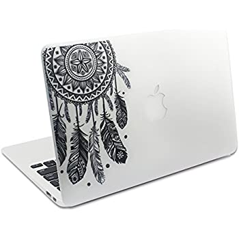 Easy gift dream catcher decal removable vinyl macbook decal sticker decals skin with precision cut