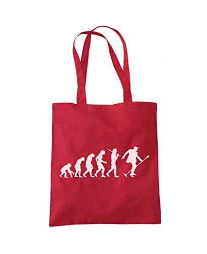 Tote Evolution Red 'The Shopper Fashion King' Bag EEcqO7rUW