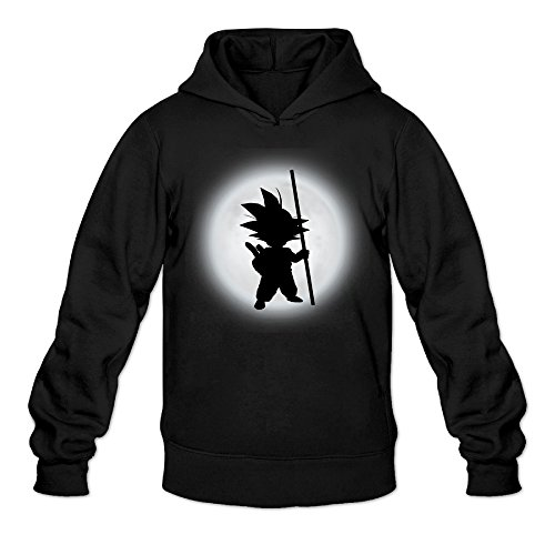 CYANY Son Goku Shadow DBZ Japanese Comic Character LOGO Women's Summer Hoodies Hoodie SBlack