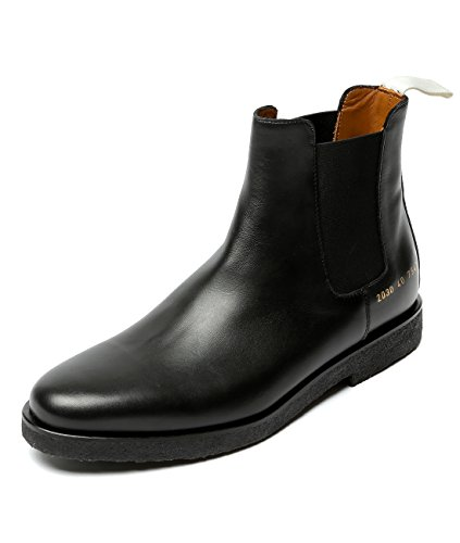 wiberlux-common-projects-mens-real-leather-round-toe-chelsea-boots-42-black
