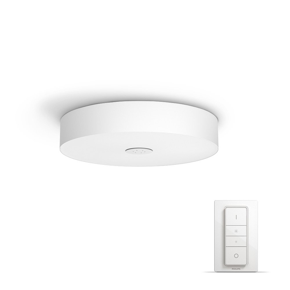 Philips Hue White Ambience Fair Dimmable LED Smart Flush Ceiling ...