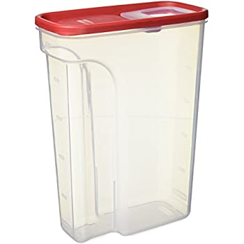 Rubbermaid Modular Cereal Keeper Container, 22 Cup, Large