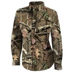 Russel Outdoor Ladies Button Up Long Sleeve Mossy Oak Break Up XSmall