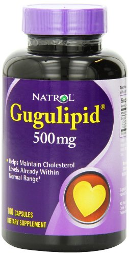 Natrol Gugulipid 500 mg Capsules, 100-Count