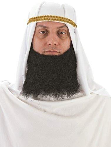 Adult Mens White Arabian Arab Headdress Turban Fancy Dress Costume Outfit -