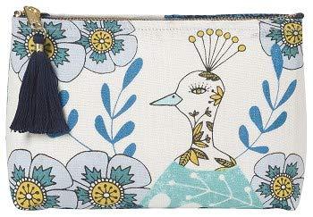 Now Designs Small Cosmetic Bag Birdland