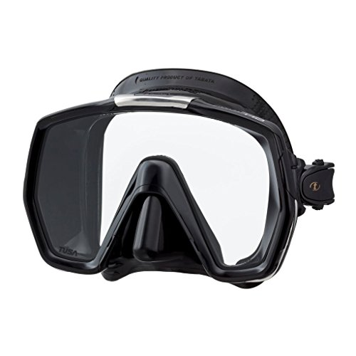 Scuba mask review. TUSA M-1001 Freedom HD Scuba Diving Mask, Black/Black
