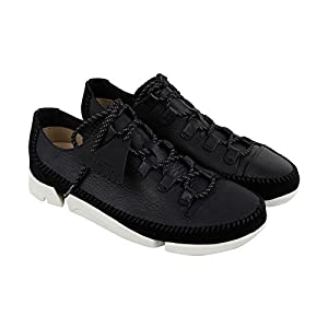 CLARKS Trigenicflex 2 Mens Gray Nubuck Athletic Lace up Training Shoes