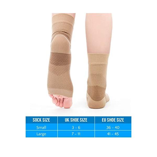 a99c893020 Proworks Plantar Fasciitis Compression Socks (Pair), Night Splint ...