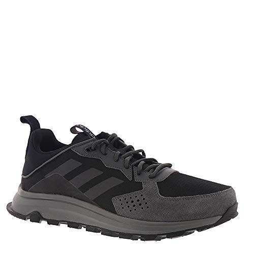 adidas Men's RESPONSE TRAIL Athletic Shoe, Black/Black/Grey Six, 11 Medium US