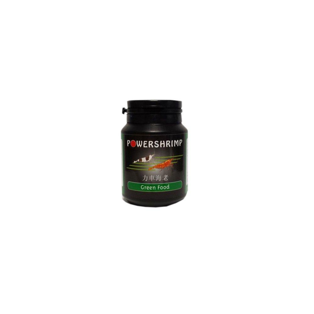 powershrimp Crevette Doublure greenf Ood pour améliorer la vitalité et santé de votre crevettes 50g Boîte Power Shrimp