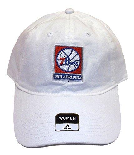 Philadelphia 76ers Slouch Adjustable Adidas Hat - Women's Osfa - E823W