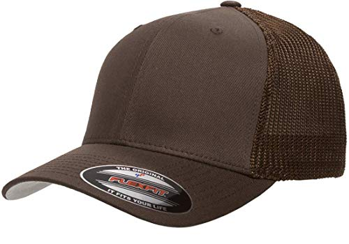 Flexfit Trucker Hat for Men and Women Breathable Mesh Stretch Flex Fit Ballcap w//Hat Liner