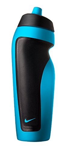 Nike Sport Water Bottle with Hang Tag (Blue Lagoon/Black)