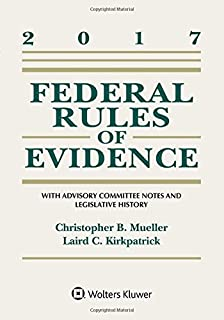 Evidence under the rules connected casebook looseleaf aspen federal rules of evidence with advisory committee notes and legislative history 2017 statutory supplement fandeluxe Choice Image