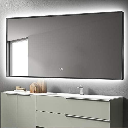 Modelo Espejo de Pared EMKE Espejo de ba/ño con iluminaci/ón LED
