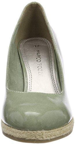 Zapatos Tacón Tozzi Para De mint Mujer 22440 Marco Patent Verde 6vq1H