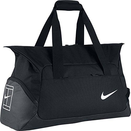 Nike Tennis Duffel Black/Black/White Duffel Bags by Nike