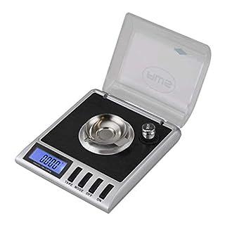 American Weigh Scale Gemini Series Precision Digital Milligram Scale, Silver 20G X 0.001G (GEMINI-20) (Black)