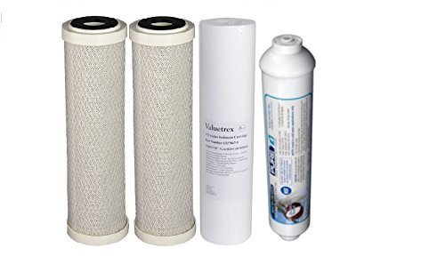 Reverse Osmosis Replacement Filter Set For 5 Stage System by Crystal Clear Supply