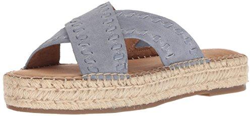 Sandals Aerosoles Suede (Aerosoles Women's Rose Gold Sandal mid Blue Suede 9 M US)