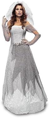 Disfraz de Novia Cadáver mujer para Halloween: Amazon.es: Juguetes ...