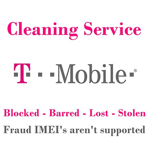 T-Mobile USA IMEI Cleaning Service for All Mobile Phones - All IMEI's...