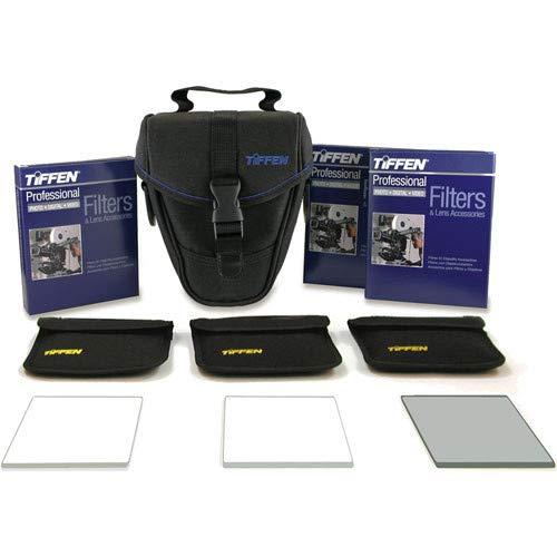 4 x 5.6 (4mm thick) Digital Video Film Look Kit 3 - Digital Diffusion F/X1, Soft F/X1 and Black ProMist 1/2 Filters