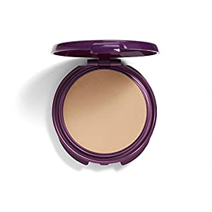 COVERGIRL Advanced Radiance Age-Defying Pressed Powder, 1 Container (.39 oz) Natural Tone, Creamy Facial Powder, Sensitive Skin Safe