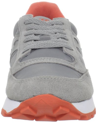 Women Saucony Saucony Grau Orange Original Jazz Damen Originals Sneakers 5S5qIwZ