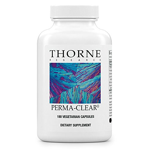 Thorne Research - Perma-Clear - Supplement for Healthy Intestinal Lining Support with L-Glutamine and Probiotics - 180 (Intestinal Permeability Support)