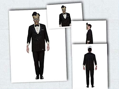 Fancy Dress World Addams Disfraz de Familia de Personajes de Lurch Morticia Miércoles Gómez Pugsley Halloween Truco o Fiesta de Dulces Divertido: Amazon.es: Productos para mascotas