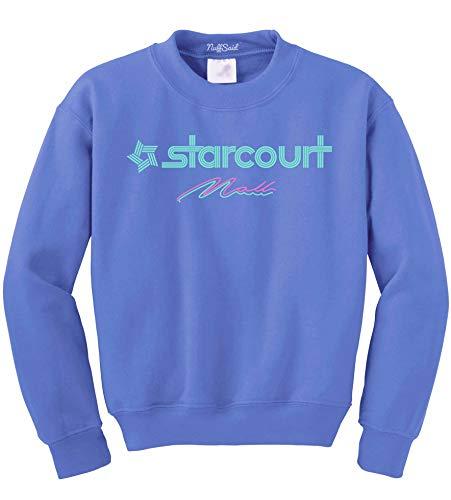 NuffSaid Hawkins Starcourt Mall Crewneck Sweatshirt - Unisex AV Club Crew (Medium, Carolina ()