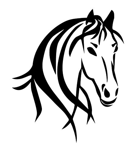 - Horse Truck Decal for Women is a Large OUTDOOR Vinyl Sticker Gift (22