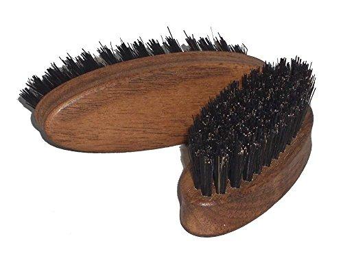 Bartbürste aus Nussbaumholz