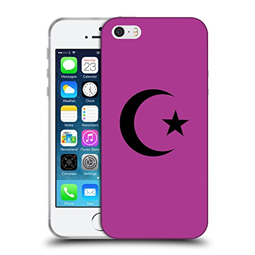 GoGoMobile Coque de Protection TPU Silicone Case pour // Q08490621 Religion 13 byzantin // Apple iPhone 5 5S 5G SE