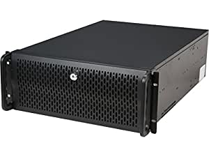 Rosewill 4U Server Chassis / Server Case / Rackmount Case, Metal Rack Mount Computer Case with 12 Hot Swap Bays & 5 Fans Pre-Installed (RSV-L4412)
