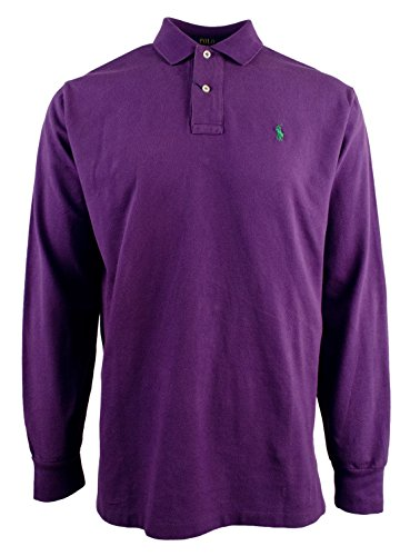 Polo Ralph Lauren Men's Long Sleeve Mesh Polo - Lauren P Ralph
