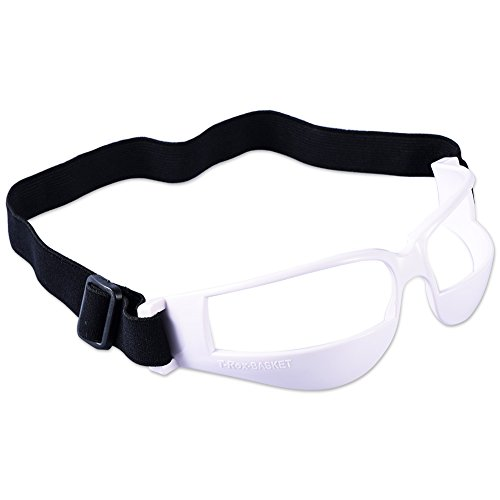 Asport Protective Dribble Goggles Sports Training Aid for Football Basketball Volleyball Hockey Paintball Lacrosse ()