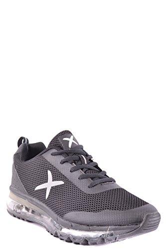 wize & ope Herren MCBI475002O Schwarz Stoff Sneakers